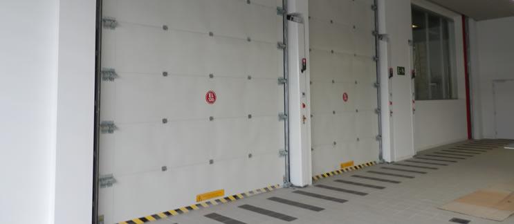 Puertas acústicas que hacen desaparecer los ruidos