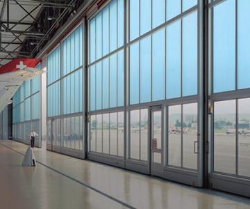 Puertas para hangares