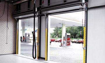 Puertas seccionales compact